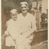 Truman Capote as a young boy with cousin Sook Faulk in Monroeville, AL