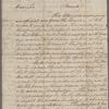 Washington, George. Philadelphia. To Thomas S. Lee