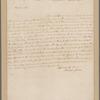 Gates, Horatio. New York. To Benjamin Rush
