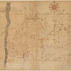 Untitled manuscript map of Great Nine Partners Patent in Dutchess County, New York