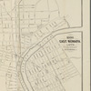 Map of Newark and East Newark, N.J. from the most authentic surveys: 1000 East Newark lots to be sold, 27th Sept. inst. at 2 o'clock on the premises, P.S. Van Houten, auc.