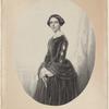 Mad'lle Yella, première danseuse du Théâtre Imperial de Saint Pétersbourg