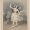 Miss Emma Harding as Queen of the Wilis, in the Phantom dancers