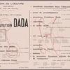 Manifestation Dada: Maison de l'œuvre (Salle Berlioz) ... le samedi 27 mars, à 8 h. 15 précises, [broadside]