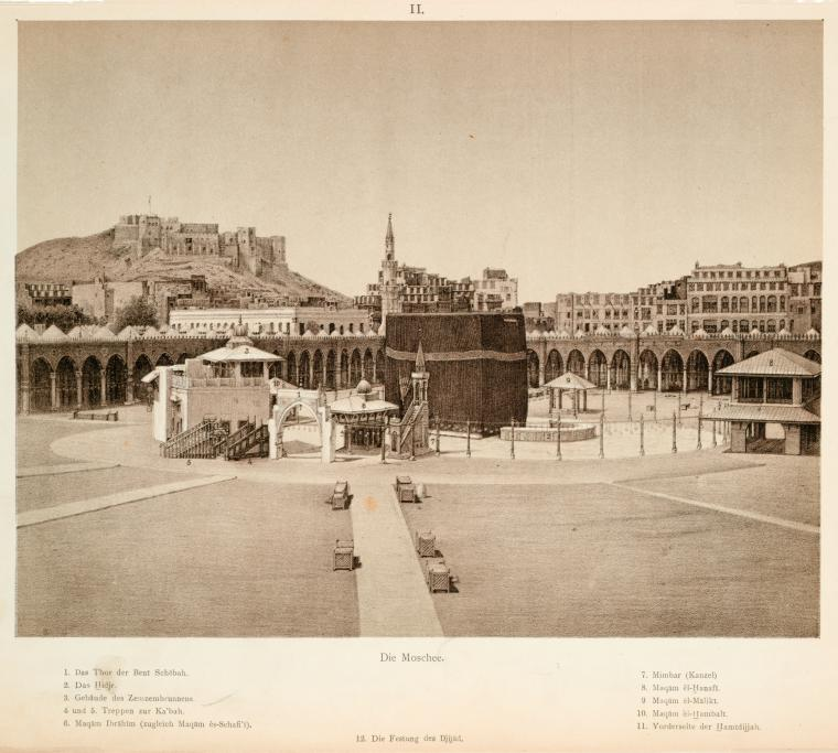 Fascinating Historical Picture of Masjid al-.Haram in 1888