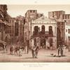 Die von Othman Pascha erbaute Hauptwache (links im Hintergrund èç-Çáfa [as-Safa]).