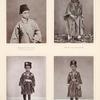 Muhammed Abd èl-'Azîz, Sohn des regierenden Grossscherifs und drei Neffen des Grossscherifs.