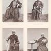 Zwei vornehme Sèjjids in Mekka, ein Mu'èddin (Aufrufer zum Gottesdienste) und ein Kâtib (Schreiber ) des Grossscherifs.