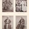 Ein Mekkaner, Kaufleute (Mekka und Djiddah), Ali Rèjjis (aus einem Geschlechte von Obersten der Mu'èddinîn, welches von Abdallah ibn Zubair herstammen soll) und ein Mu'èddin (Aufrufer zum Gottesdienste).