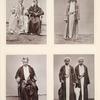 Mitglieder verschiedener Scherifenfamilien in Mekka.