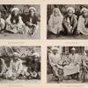 Pilger aus Mandar (Celébes), Pilger aus Sumbáwa, Pilger aus Djapára (Java), Pilger aus Malang und Pasurúan (Java).