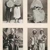 Bettelnde Pilger aus Jèmèn [Yemen], Pilger aus Marokko [Morocco], Indischer Pilger, Derwische aus Buchara [Bukhoro].