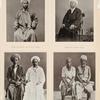 Haupt der Schêche für malaiische Pilger, Schêch für malaiische Pilger, Pilger aus Moko-moko und Indrapura (West Sumátra), Pilger aus Edi (Nord-Sumátra).