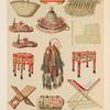 Mekka gebräuchliche Gegenstände [fig. 1-13], Pl. XXXVIII