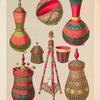 Mekka gebräuchliche Gegenstände [fig. 1-8], Pl. XXXIX
