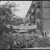 Tenements and clotheslines. New York, NY