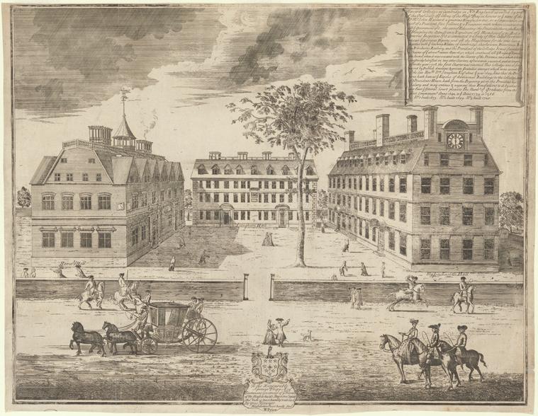 Fascinating Historical Picture of William Burgis in 1743