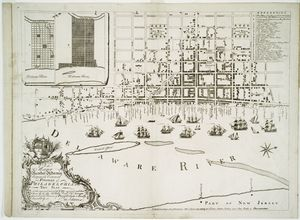 To the mayor recorder aldermen common council and freemen of Philadephia this plan of the improved part of the city....