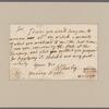 Shirley, William. To Treasurer Gray