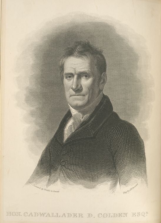 This is What Colden, Cadwallader d. Looked Like  in 1826