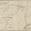 Karte von New York: zu Kapp's geschichte der deutschen einwanderung