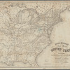 Disturnell's new map of the United States and Canada showing all the canals, rail roads, telegraph lines and principal stage routes