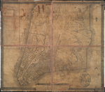Plan of the city of New-York, drawn from actual survey