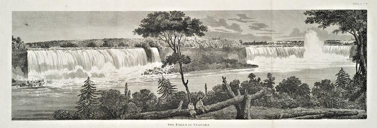 The Falls of Niagara.