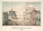 Church and Market Sts., A