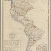 Karte von Amerika: zum gebrauch in hoheren lehranstalten und zum selbstunterricht