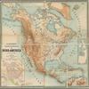 H. Kiepert's physikalische Wandkarten, VI, Nord-America im Massstabe von 1: 8,000,000