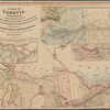 A map of Cabotia: comprehending the provinces of Upper and Lower Canada, New-Brunswick and Nova-Scotia with Breton Island, Newfoundland & c. and including also the adjacent parts of the United States, compiled from a great variety of original documents