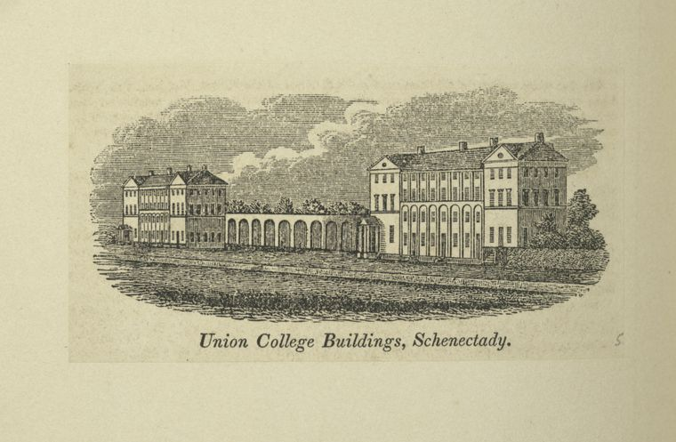 Fascinating Historical Picture of Union College in 1826