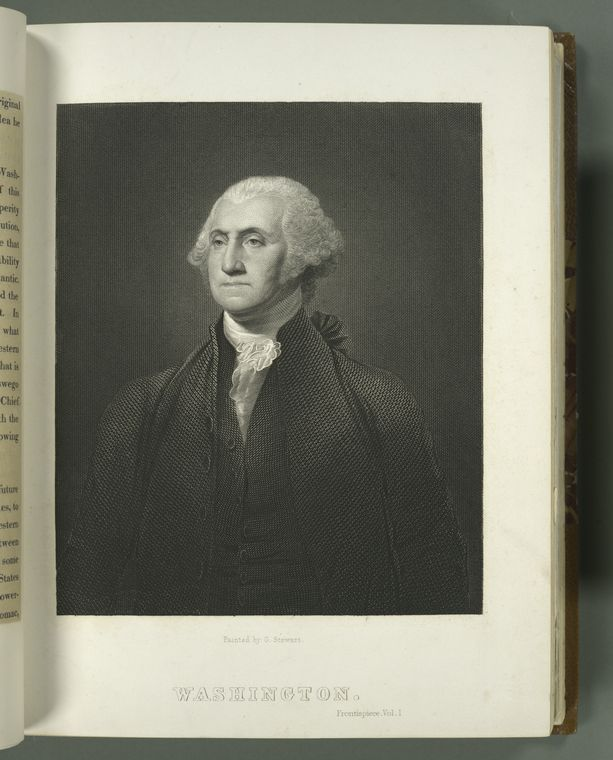 Fascinating Historical Picture of George Washington in 1826