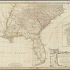 A new and general map of the southern dominions belonging to the United States of America: viz North Carolina, South Carolina, and Georgia with the bordering Indian countries, and the Spanish possessions of Louisiana and Florida