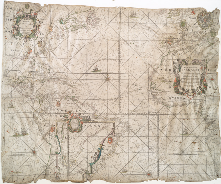 This is What West-Indische Compagnie Looked Like  in 1710