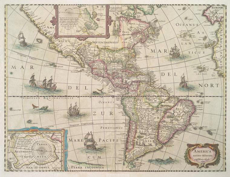 Fascinating Historical Picture of Hendrik Hondius in 1638