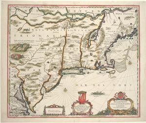 Belgii Novi, Angliae Novae, et partis Virginiae.