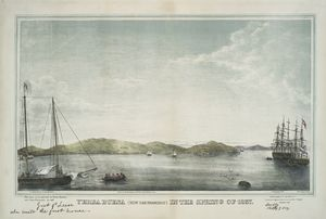 Yerba Buena (now San Francisco) in the spring of 1837.