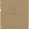 """Cover page of annual report, """"USO Camp Shows, Inc. (Stage, Radio and Screen) Report on Year of 1944 (January 1, 1944 to December 31, 1944"""""""