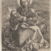 The Virgin and Child in Swaddling Clothes