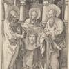 Saints Peter, Paul, and Veronica
