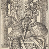Emperor Maximilian I on Horseback