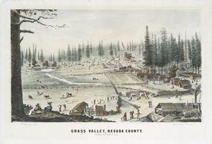 Grass Valley, Nevada County, California.