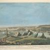 A view of Louisbourg in North America... = Vue de Louisbourg, dans l'Amérique septentrionale...