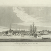 A view of New York from the north west.