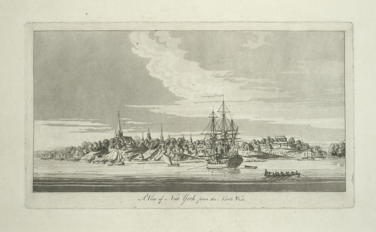 Fascinating Historical Picture of Trinity Church in 1777
