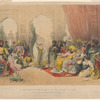 A Nautch in the palace of the Ameer of Sind. From drawings made by Capt'n Melville Grindlay in 1808
