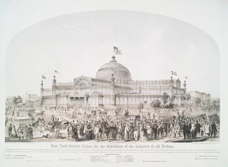 New York Crystal Palace for the exhibition of the industry of all nations.