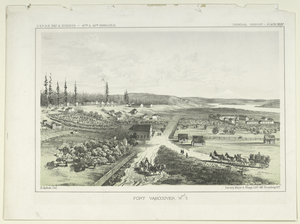 Fort Vancouver, W.T.  U.S.P.R.R. Exp. and Surveys - 47th and 49th Parallels. General Report-Plate XLIV.